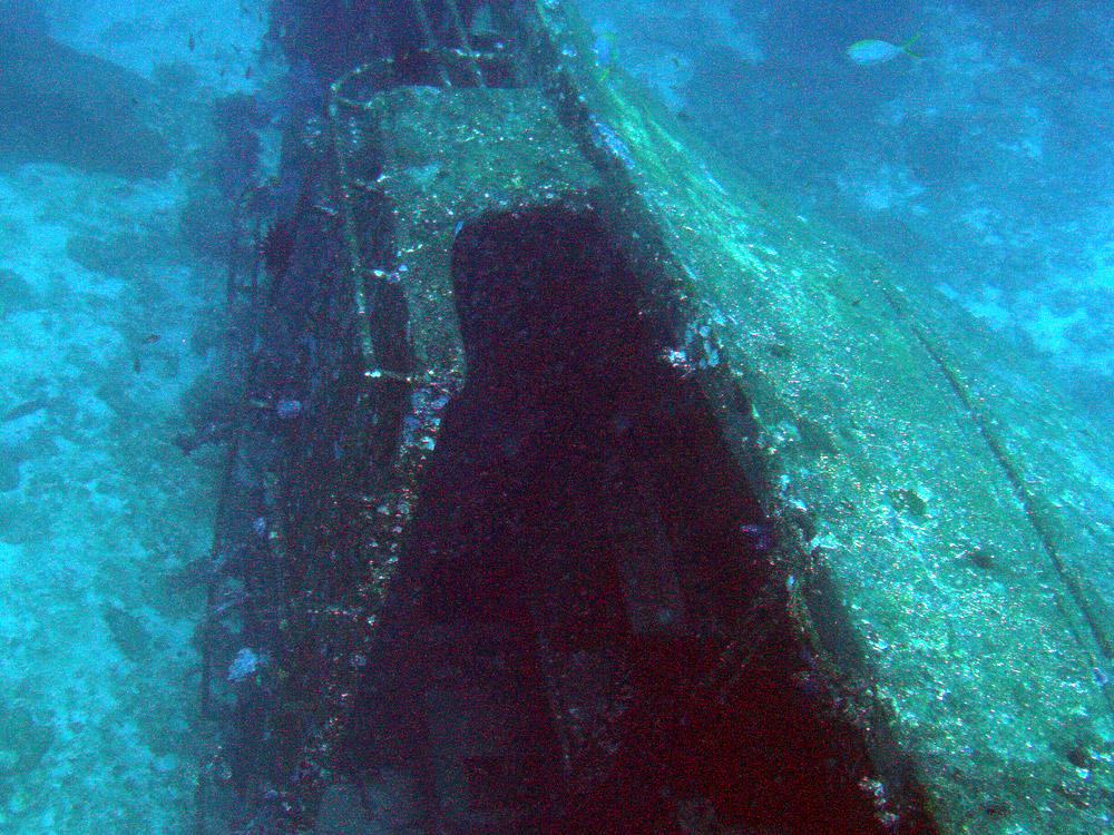 Cruiser Wreck Diving Thailand